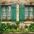 © STEVEN B. GRUEBER PhotoID# 6042690: Flowered Windows