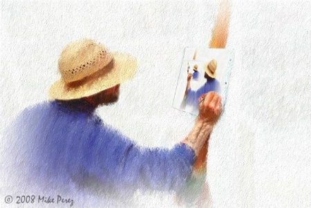 Painting the Painter