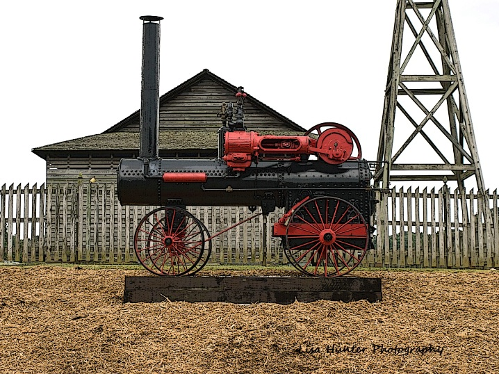 Steam engine of the past