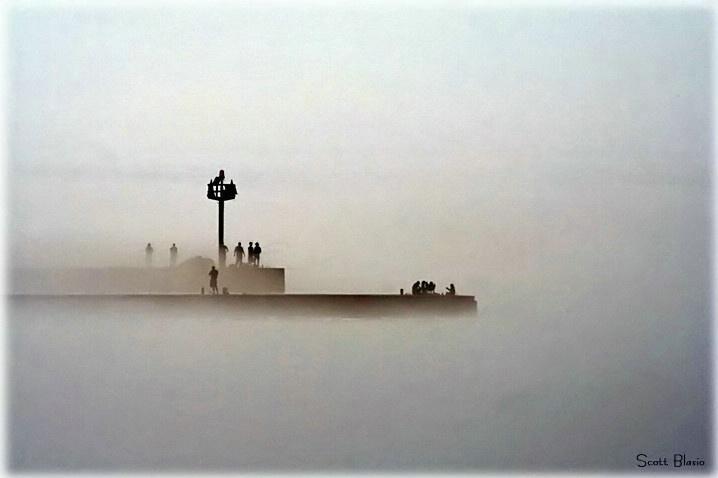 Foggy Pier......