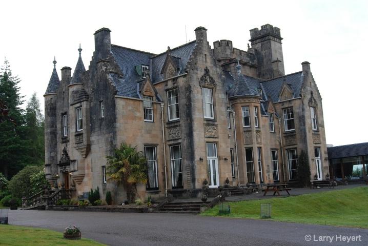 Scotland- Stonefield Castle near Tarbert - ID: 6378598 © Larry Heyert