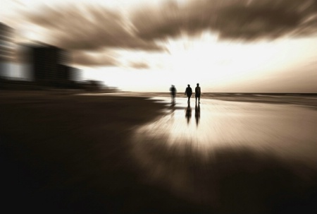 Photography Contest Grand Prize Winner - June 2008: Out From The  Light  Into The Uknown