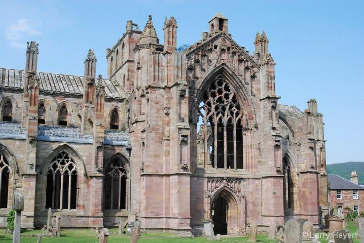 Scotland- Melrose Castle - ID: 6380082 © Larry Heyert
