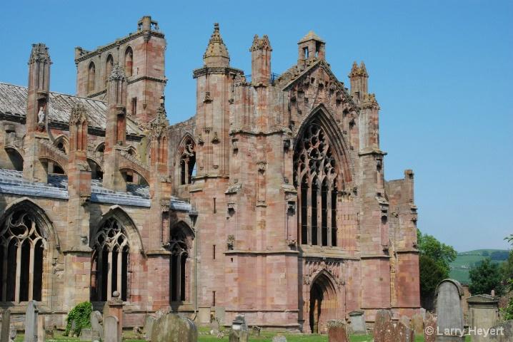 Scotland- Melrose Castle - ID: 6380085 © Larry Heyert