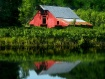 Red Barn and Pond