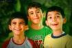 Funny trio