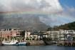Rainbow over the ...