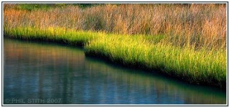 Tidal Creek at Sunset
