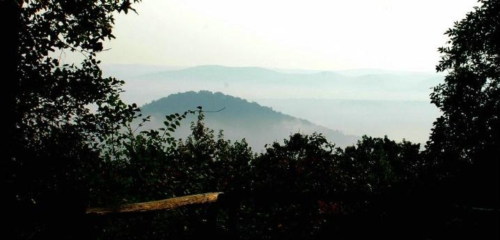 """Morrow Mountain Misty Morning"""