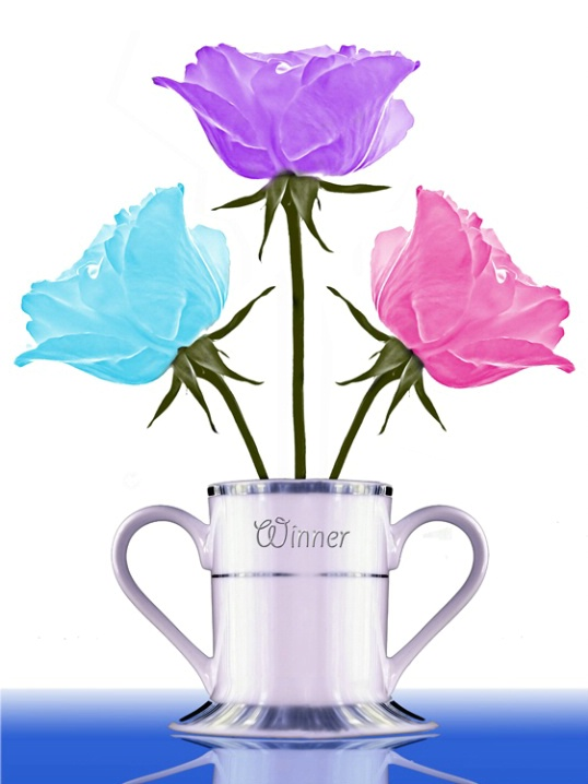 """Three Roses for """"The Winners"""""""