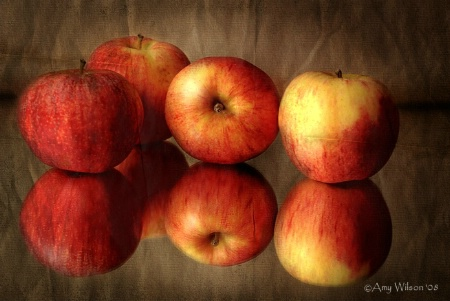 Apples In Reflection