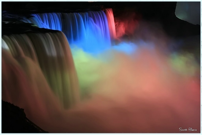 Mighty Niagara Falls...