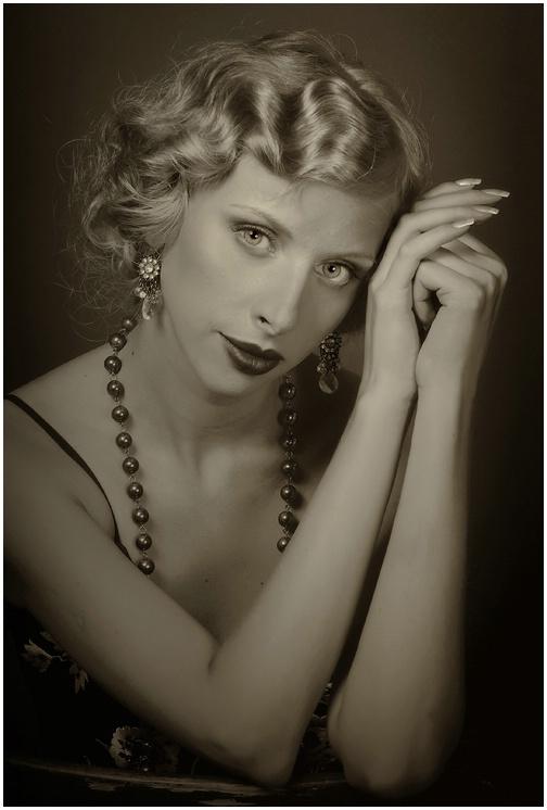 Classical female portrait