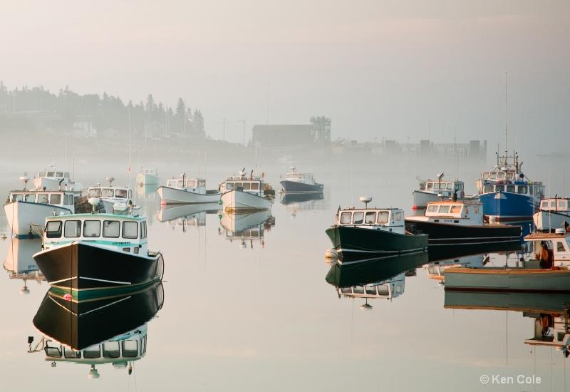 Misty Maine Morning - ID: 6821733 © Ken Cole