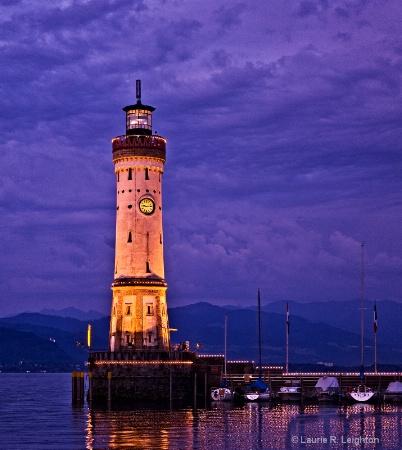 Lighthouse, Lindau Island, Germany