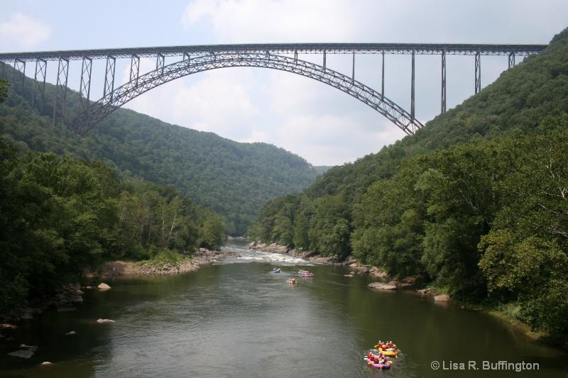 New River Gorge Bridge - ID: 6886438 © Lisa R. Buffington