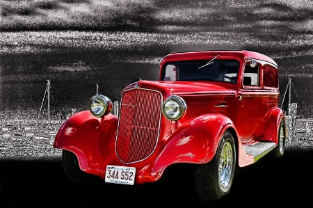 Red & Old Ford