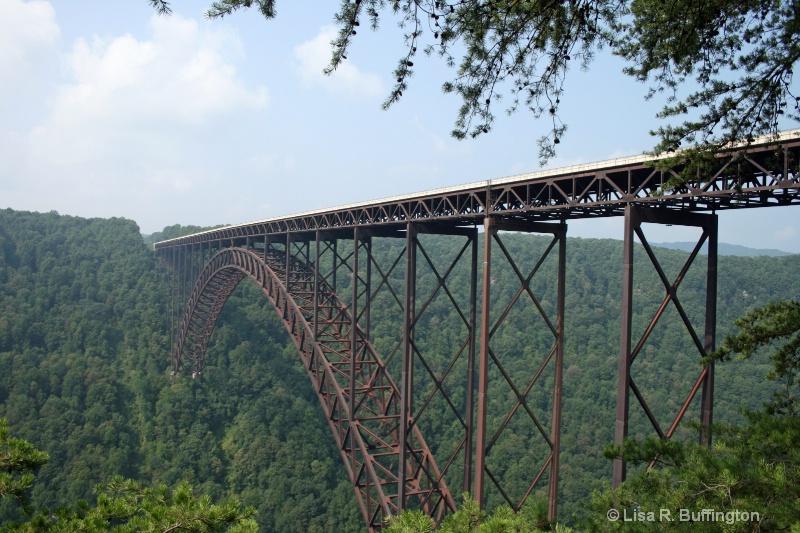New River Gorge Bridge #2 - ID: 6991931 © Lisa R. Buffington