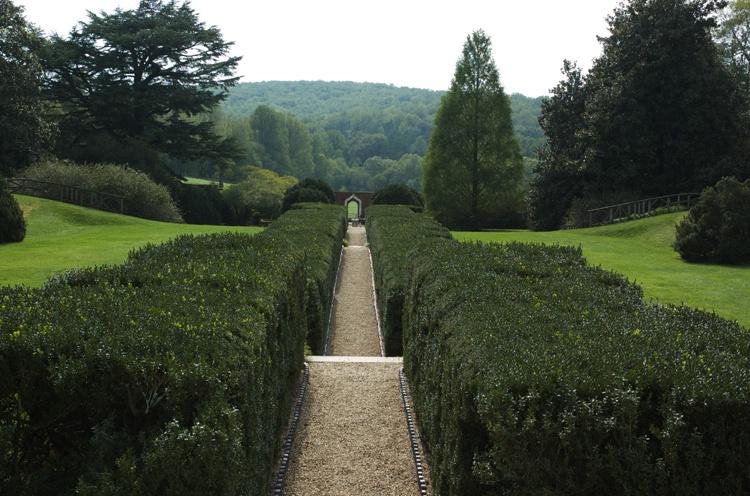 Through the Formal Garden