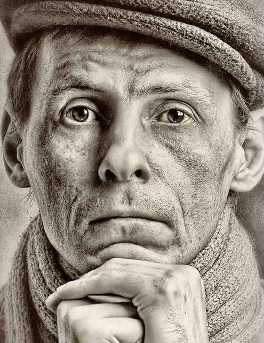 When I will become old....(Self-portrait)