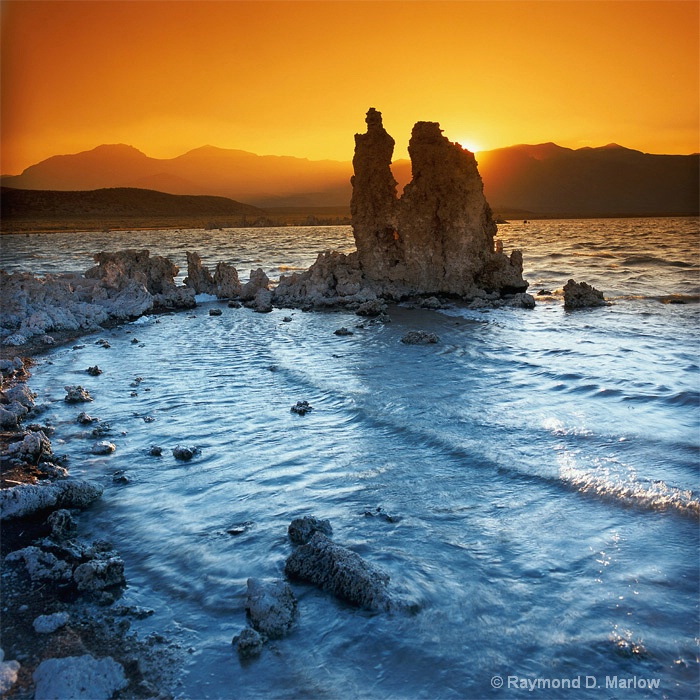 Faded Fire,  Mono Lake