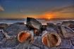Drain Pipe Sunset