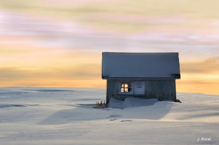 The Shed in Winter