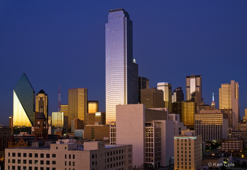 Dallas at Sunset - ID: 7426942 © Ken Cole