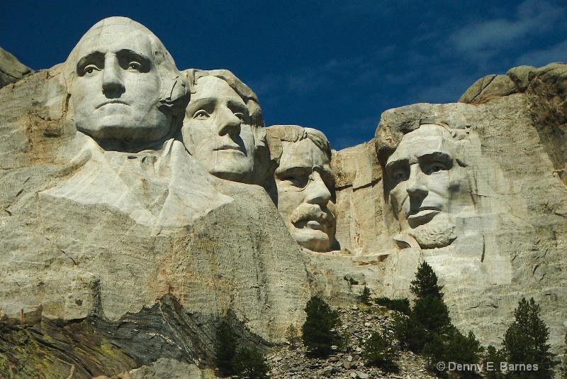 Mt Rushmore National Monument, SD - ID: 7482884 © Denny E. Barnes