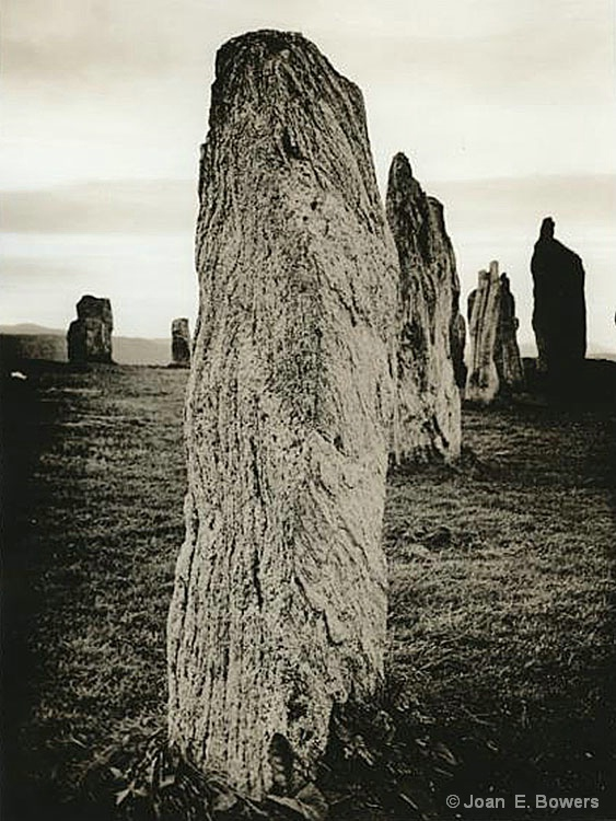 Calanais Stones - ID: 7484893 © Joan E. Bowers