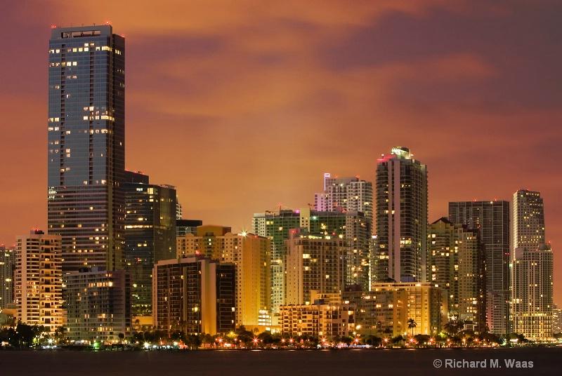 Miami at Dusk Part II - ID: 7495099 © Richard M. Waas