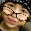 Beauty on her eye...