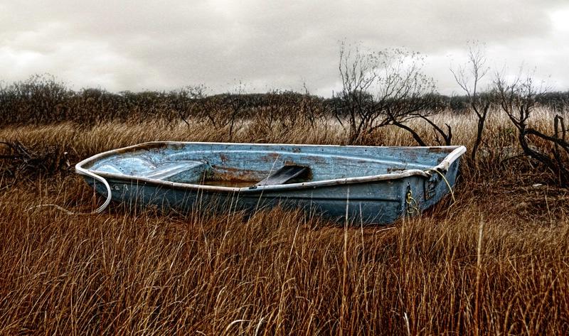 Blue boat #2