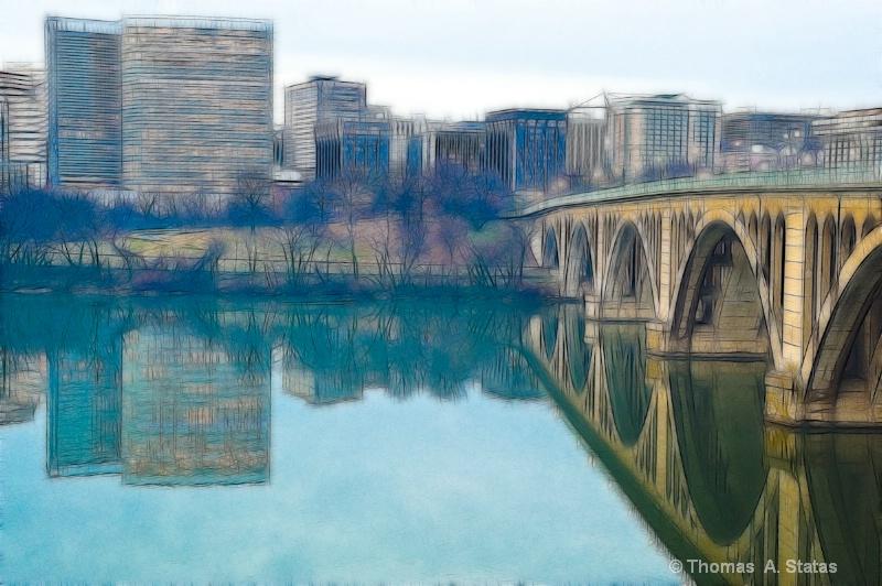 Key Bridge - ID: 7666277 © Thomas  A. Statas
