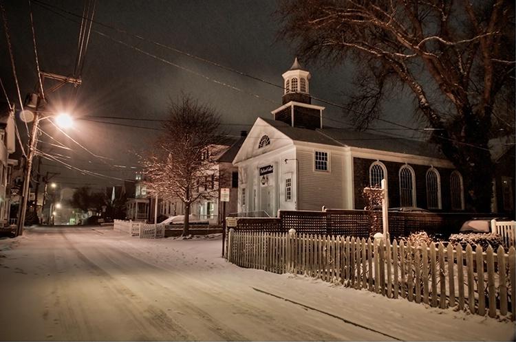 Winter on Commercial St - ID: 7722010 © Jeff Lovinger