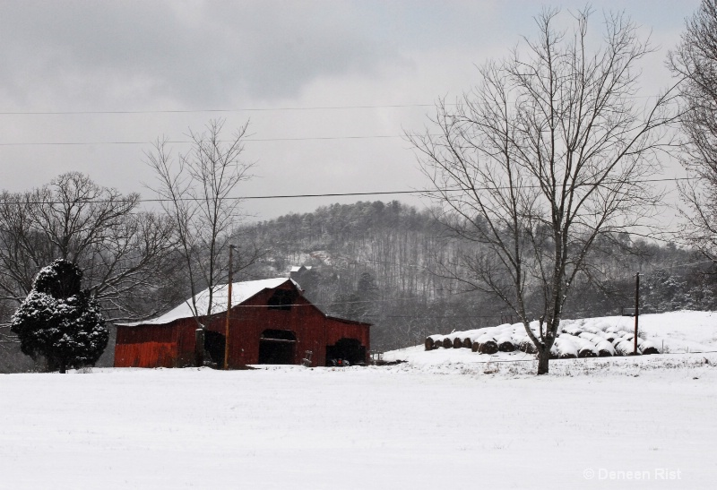 Winter in Pigeon Forge