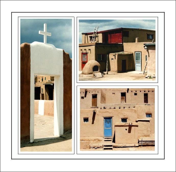 Adobes three - ID: 7864153 © Joseph T. Dick