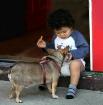Sharing His Wealt...