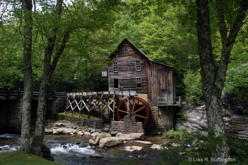 Glade Creek Grist Mill - ID: 7875093 © Lisa R. Buffington
