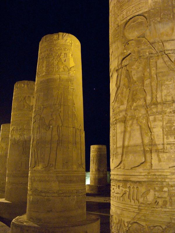 Kom Ombo Temple, Egypt (Venus in sky) - ID: 8011603 © James E. Nelson