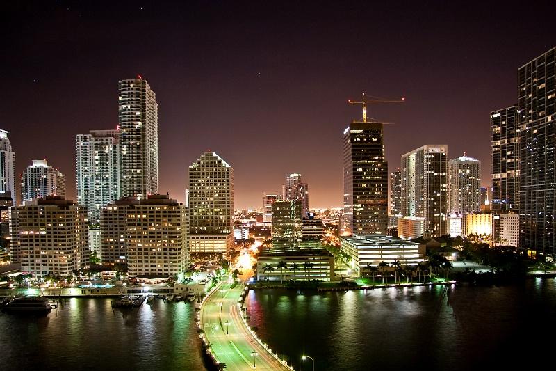 Miami Skyline - ID: 8021532 © Steve Abbett