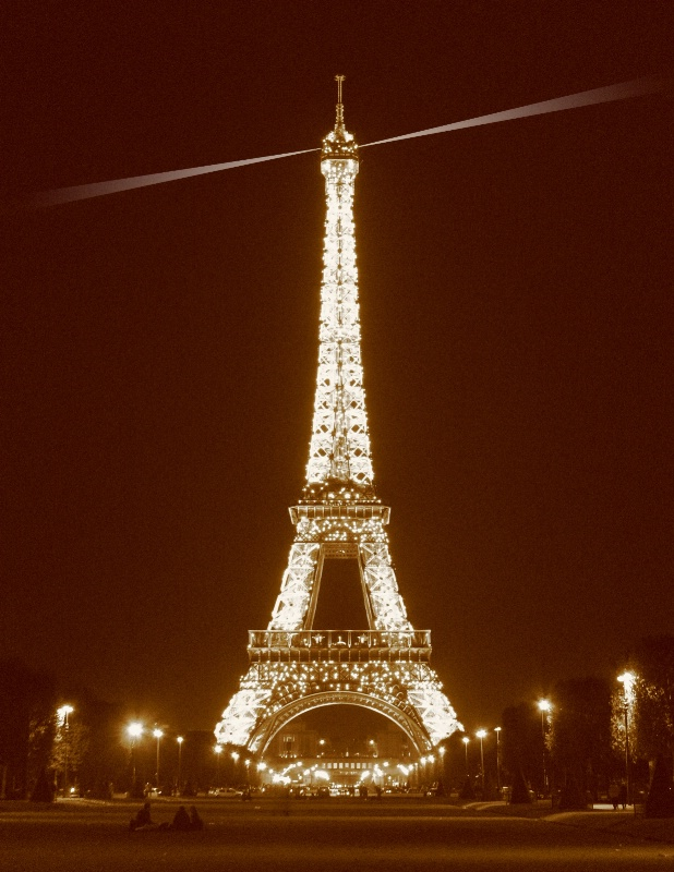 Eiffel Tower at Night (Re-Submittal)