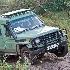 2Zacks Landcruiser getting stuck - Talak River Cros - ID: 8135596 © Larry J. Citra