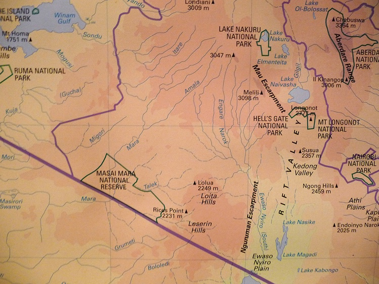 Map 2  - ID: 8137514 © Larry J. Citra