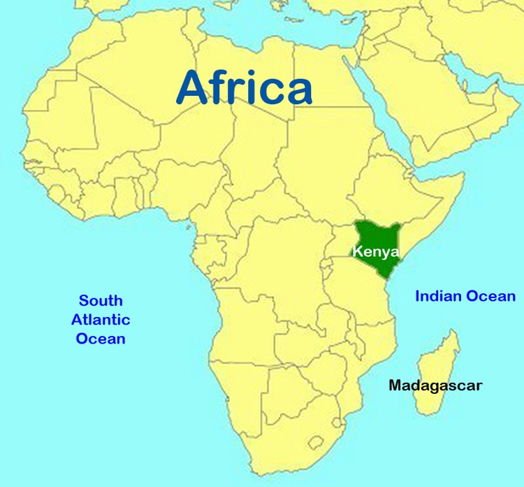 Map of Africa - ID: 8137516 © Larry J. Citra
