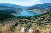Lake scenery in c...