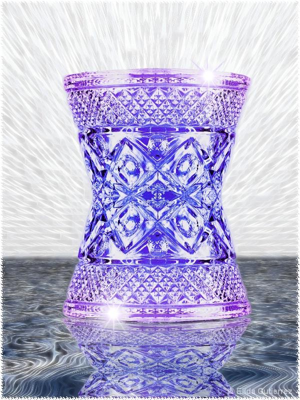 Purple Crystal Trophy