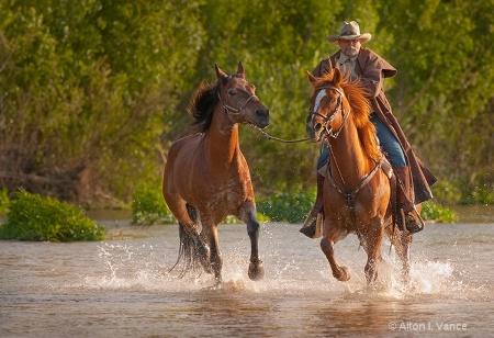 Copper Runs  the River