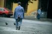Just walking arou...