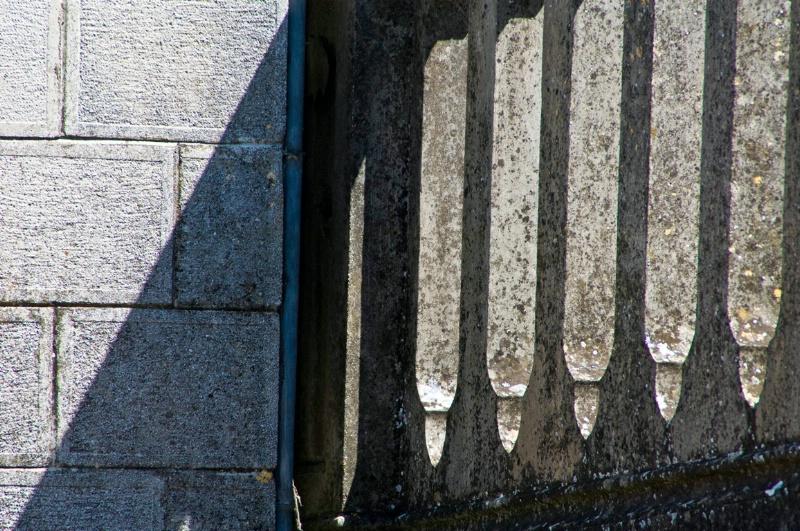 Shadows, Cemetary, Todi, Umbria - ID: 8256305 © Larry J. Citra